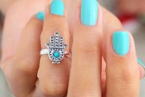 anillo accesorios mano de fatima