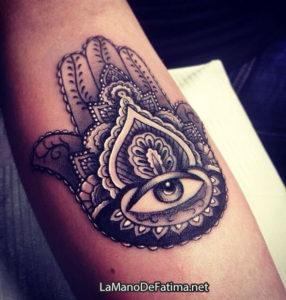 significado de tatuajes de la mano de fatima