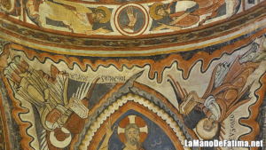 mano de fatima origen pinturas sinagoga