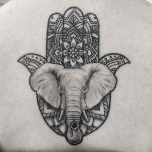 Tatuajes Mano De Fatima Con Elefantes Lamanodefatima Net