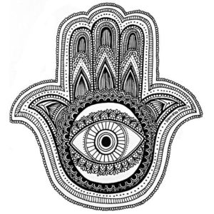 zentangle art mano de fatima